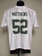 NEW-FLAW- CLAY MATTHEWS #52 PACKERS YOUTH L-XL NFL TEAM APPAREL JERSEY