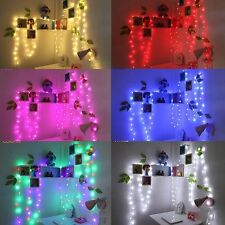 10M 100 Led Fairy String Light Wedding Party Xmas Christmas Garden Outdoor Lamp