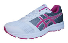 Asics Patriot 8 Womens Running Trainers / Shoes - White