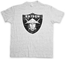 OAKLAND RAIDEN LOGO T-Shirt - Los Angeles Mortal NFL MK Raiders Kombat T Shirt