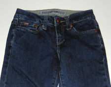 EUC Joe's Jeans girls cotton straight-leg blue denim jeans pants sz 7