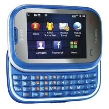 Pantech Pursuit P9020 - (AT&T/UNLOCKED) - Blue 3G Touch Screen Qwerty Phone