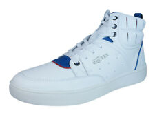 Puma Alexander McQueen Summer Joust Mens Leather Trainers / Hi Tops - White