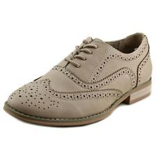 Wanted Babe Women  Moc Toe Synthetic Nude Oxford