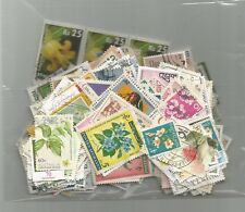 253 M&U Worldwide Topical Flowers & Plants Stamps