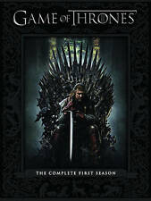 Game of Thrones: The Complete First Season One (DVD, 2012) Brand New & Sealed!!