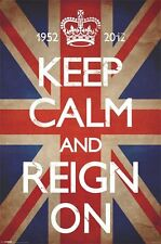 New Keep Calm & Reign On Keep Calm and Carry On Maxi Poster