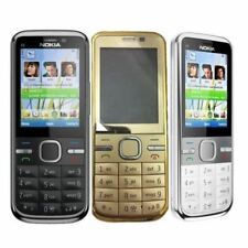 BRAND NEW CONDITION Nokia C5-00 5MP - Mobile Cell Phone - BLACK /WHITE/GOLD
