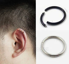 2PC Surgical Steel Nose ring Eyebrow Tragus Lip ring Earrings EH0141