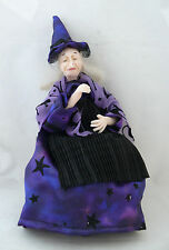 Dolls House Miniature Sleeping Witch 1-12TH Scale