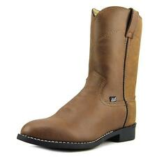Justin Boots JB3001  2E Round Toe Leather  Western Boot