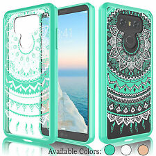LG G6 H870 2017 Clear Case For Girls Hybrid Shockproof TPU Bumper Phone Cover
