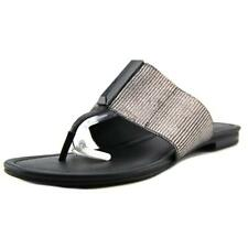 Calvin Klein Bonni Women  Open Toe Synthetic  Thong Sandal NWOB