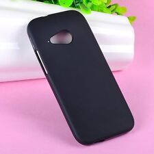 Protector TPU Gel Silicone Jelly Matte Case Cover Skin Shell Fr HTC ONE M8 mini