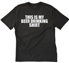 This Is My Beer Drinking Shirt T-shirt Funny Party College Bar Tee Shirt S-5XL