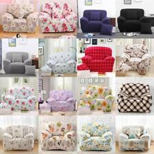 1-Seater Sofa Slipcover Armchair Stretch Protector Couch Cover Washable Easy Fit