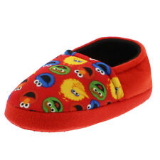 Sesame Street Toddler Boys Girls Aline Slippers STF7100BSS Elmo Cookie Monster