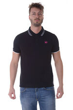 Alexander McQueen MCQ Polo Shirt % Man Blacks 277624RHT04-1000