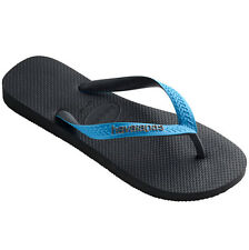 Havaianas Top Mix Push-toe Sandals Bath slippers grey turquoise 4115549.9482