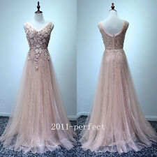 2017 Luxury Sequins Top Evening Dresses Long Shiny Formal Prom Gowns Custom New