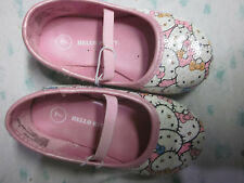 Hello Kitty Sequin White/Pink Girl's Ballet Flats Shoes