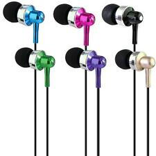 3.5mm Super Bass Stereo In-Ear Earphone Headphone Headset For iPhone Tablet MP3