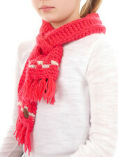 Barts Knit Scarf Scarf Winter Scarf pink Joppy Fringes Loop warm