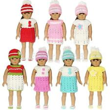 Handmade Dress Hat Socks Kit for American Girl Our Generation 18'' Dolls Outfit