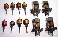 TRIANG HORNBY MINIC MOTORWAYS SPARES PLASTIC CHASSIS MOTORS & ARMATURES