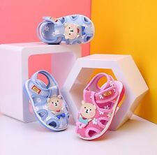 Summer Infant Shoes Fashion Baby Squeaky Sandals Toddler Boy Girl Walking Shoes