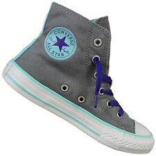 CONVERSE ALL STAR CHUCK TAYLOR CT 2 FILD HI SHOES GREY BLUE CHILDREN'S SNEAKERS