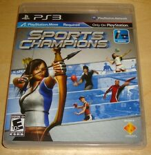 Sports Champions PS3 Move Game (Sony Playstation 3, 2010) Complete Video Game