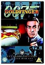 Goldfinger James Bond 007 2 Disc Ultimate Edition DVD Sean Connery