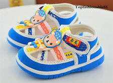 Cute Infant Squeaky Shoes Summer Baby Boy Girl Sandals Toddler Walking Shoes