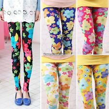 New Women Colorful Elastic Floral Printing Leggings Stretch Skinny Leggings ED01