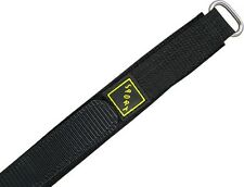 Watch Strap with Velcro SPORT Black 16mm18mm 20mm22mm