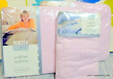 MARTHA STEWART COTTON SATEEN TWIN SHEET SET CHOICE LAURA ASHLEY BEDSKIRT
