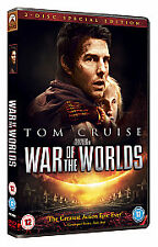 DVD OF THE TOM CRUISE WAR OF THE WORLDS  2005, 2-Disc Set AND DVD IS USED