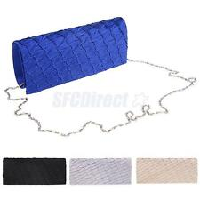 Chic Draped Women Envelope Clutch Chain Purse Lady Evening Handbag Shoulder Bag