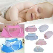 Portable Foldable Baby Kids Infant Bed Zipper Canopy Mosquito Net Tent 4 Types
