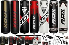 RDX Punching Bag Boxing Gloves MMA Training Sparring Heavy Duty Station Unfilled