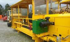 SELF PROPELLED PERSONNEL CARRIER RAILROAD MOW RR TRACK MACHINE TOOL CIRCUIT