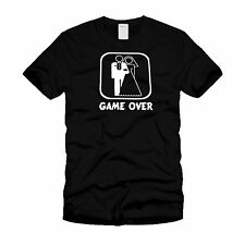 New Men's - Game Over ( Marriage) - Funny T-Shirt