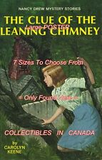 "NANCY DREW Leaning Chimney SYMBOL = POSTER Not Book CHOOSE FROM 7 SIZES 19""-36"""