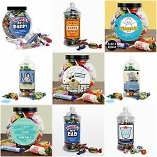 Personalised Sweets Chocolates for Men Father's Day Gifts Presents for Dad Daddy