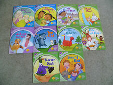 10 Oxford Reading Tree Songbirds Phonics books Stage 1+, 2, 3 Julia Donaldson
