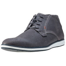 Mustang Chukka Boot Mens Shoes Navy New Shoes