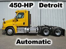 CASCADIA 450-HP DETROIT AUTOMATIC TANDEM AXLE DAYCAB SEMI TRUCK 540-K LOW MILES