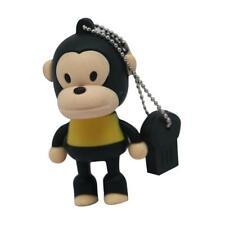 Monkey Cartoon USB Flash Drive USB Stick Pen Drive 4-32GB Capacity USB Flash