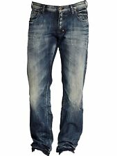 PRPS Goods and Co. Barracuda Dark Blue Jeans E61P86X Straight Leg Regular Fit
